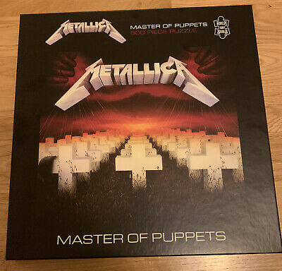 Metallica Puzzle Master Of Puppets Official • 5£