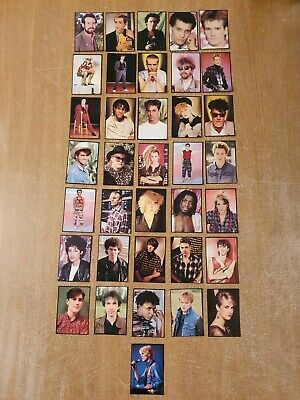 Smash Hits Collection Panini Stickers Cards 1980's 36 Stickers  • 14.99£