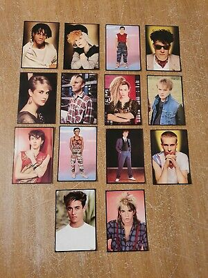 Smash Hits Collection Panini Cards Stickers 1980's 14 Cards • 8.99£