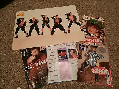 Take That Poster/magazine Clippings Lot • 12£