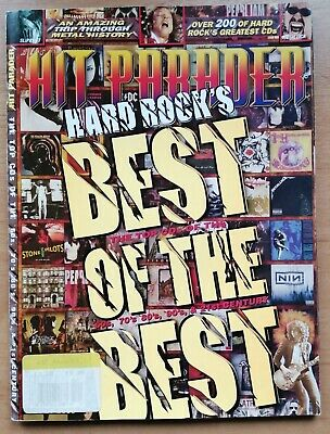 Hit Parader Magazine Hard Rocks Best Of The Best Special Best CDs Ever RARE 2009 • 5£