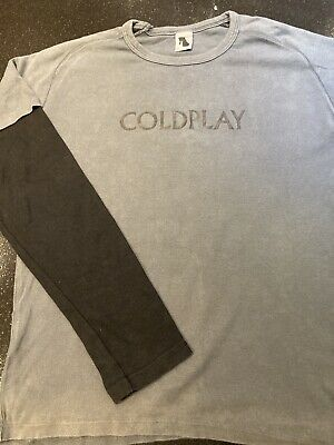 Coldplay Vintage 2002 Tour Shirt.. (L) A Rush Of Blood To The Head Tour • 8£