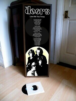The Doors Love Me Two Times Poster Lyric Sheet,light My Fire,riders Storm,lizard • 13.99£