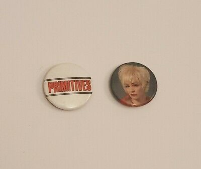 The Primitives Button Badges 1980s • 3£