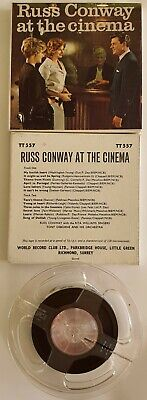RUSS CONWAY At The Cinema - Reel To Reel Music Tape - TT557 • 10£