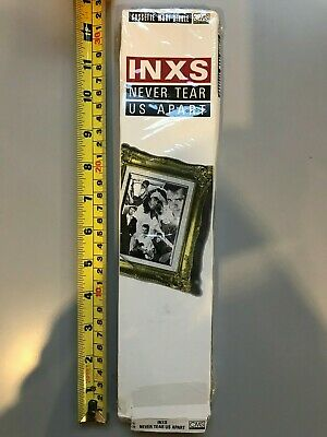 LONG BOX - INXS  Never Tear Us Apart  Cassette Single 1988 Cassingle USA Tape • 14.99£