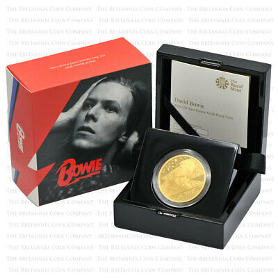 2020 Royal Mint Music Legends DAVID BOWIE Gold Proof Two Ounce 2oz - Boxed • 14,500£