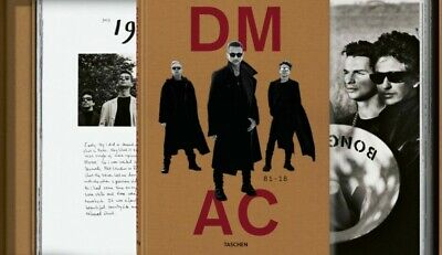 Taschen XXL Book Depeche Mode By Anton Corbijn DM AC Signed Limited Ed SOLD OUT • 1,650£