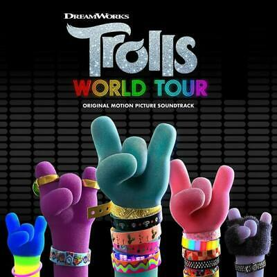 Trolls - World Tour (soundtrack) [cd] New & Sealed • 6.95£