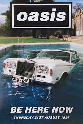 Oasis Be Here Now Poster • 11.99£