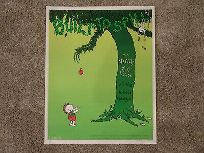 Signed~doodled! Emek Built To Spill Iconic Giving Tree Poster Atlanta 10/09/2003 • 66.68£