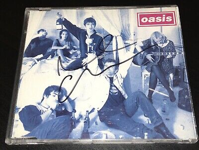 Oasis Noel Gallagher Hand Signed 4 Track Cd Cigarettes And Alcohol Rare • 19.99£