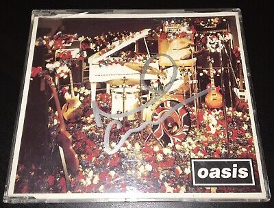 Oasis Noel Gallagher Hand Signed 4 Track Cd Don't Look Back In Anger Rare • 19.99£