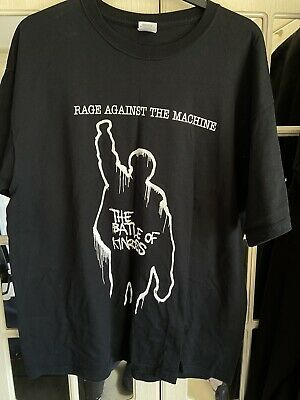 Rage Against The Machine T In The Park 2008 Event Shirt XL Kinross Scotland • 14.99£
