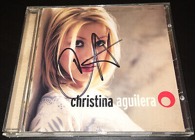 Christina Aguilera Debut Album Hand Signed Cd Rare • 19.99£
