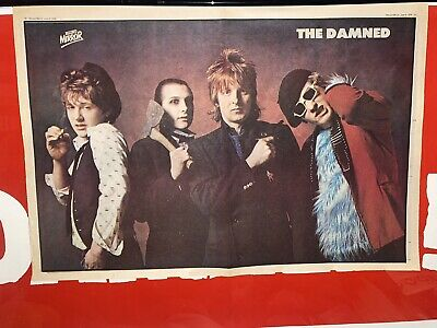 The Damned  Record Mirror • 10.50£