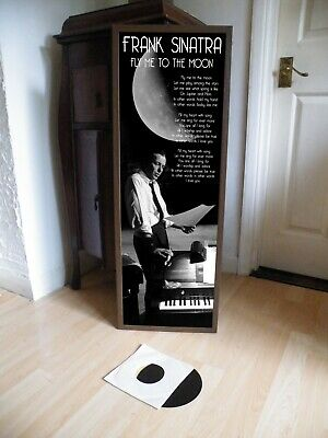Frank Sinatra Fly Me To The Moon Promotional Poster Lyric Sheet,swing,jazz • 14.99£
