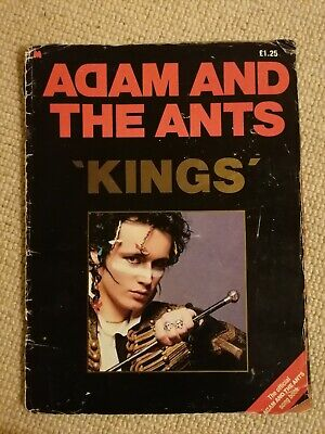 Adam And The Ants Official Song Book • 5£