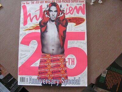 Interview Magazine October 1994: Anthony Kiedis Red Hot Chili Peppers Much More • 8.87£