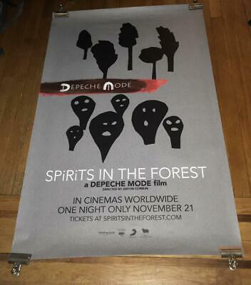 DEPECHE MODE SPIRITS IN THE FOREST  4FT Subway PROMO POSTER 2019 RARE • 7.15£