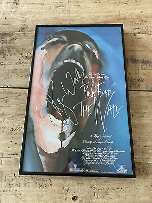 Pink Floyd The Wall - Roger Waters Signed Movie Print • 15£