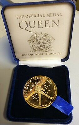 Official QUEEN 22ct Gold Plated Mediallion  • 20£