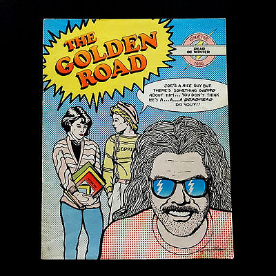 Grateful Dead The Golden Road Magazine 1985 Winter Issue 5 GD Comics Cover Art • 107.28£