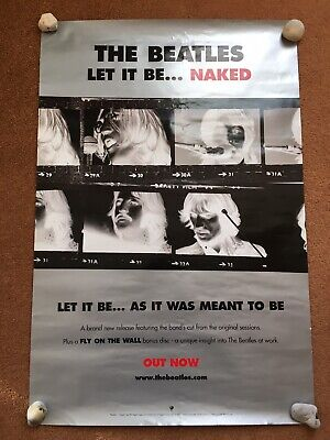 The Beatles Let It Be Naked  Poster  • 10£