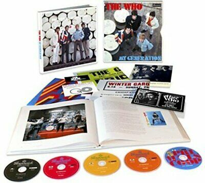 The Who - My Generation Box Set  5 UNPLAYED  DISC'S  SET DAMAGED OUTER SEE PICS • 44.99£
