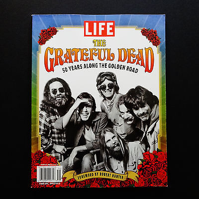 Grateful Dead Time Life Magazine Books 50 Years Along The Golden Road 2015 GD 50 • 28.60£
