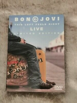 Bon Jovi This Left Feels Right Live. Limited Edition DVD • 7£