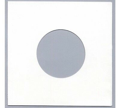 200 7  PAPER RECORD SLEEVES - WHITE - HIGHEST QUALITY - 90 Gsm • 15.69£