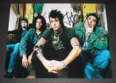Papa Roach Pp Signed 10 X8  Photo Repro Jacoby Shaddix • 5.49£