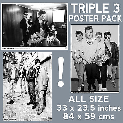 The Smiths - Set Of 3 Posters Size 84.1cm X 59.4cm - 33 In X 24 In **Morrissey** • 14.99£