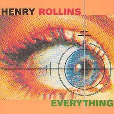 Henry Rollins : Everything CD 2 Discs (2000) ***NEW*** FREE Shipping, Save £s • 9.99£