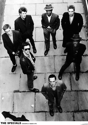 The Specials Coventry NEW A1 Size 84.1cm X 59.4cm - Approx 33  X 24  Poster • 6.99£
