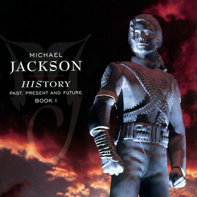 Michael Jackson : HIStory: Past, Present And Future, Book 1 CD 2 Discs (1995) • 2.20£