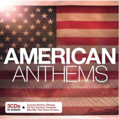 Various Artists : American Anthems CD 3 Discs (2010) FREE Shipping, Save £s • 2.60£