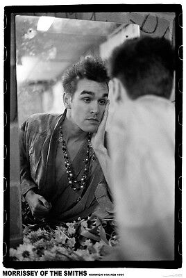 Morrissey Of The Smiths Poster Size 84.1cm X 59.4cm-approx 34''x 24'' • 6.99£
