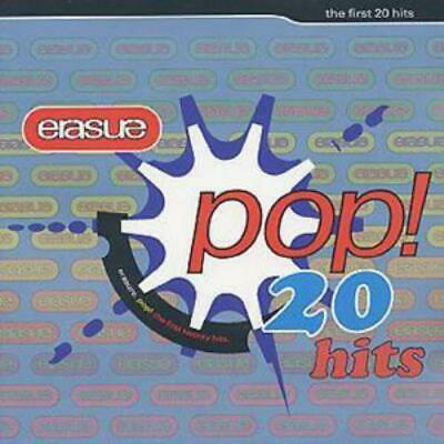 Erasure : Pop!: The First 20 Hits CD (2001) Incredible Value And Free Shipping! • 2.11£