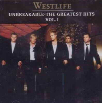 Westlife : Unbreakable: The Greatest Hits Vol. 1 CD (2003) Fast And FREE P & P • 1.94£