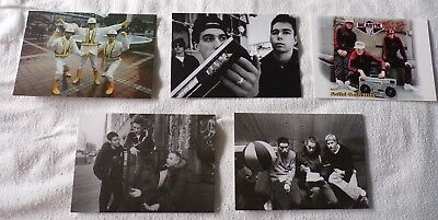 Beastie Boys Solid Gold Hits Set Of 5 Postcards New Sealed • 9.97£