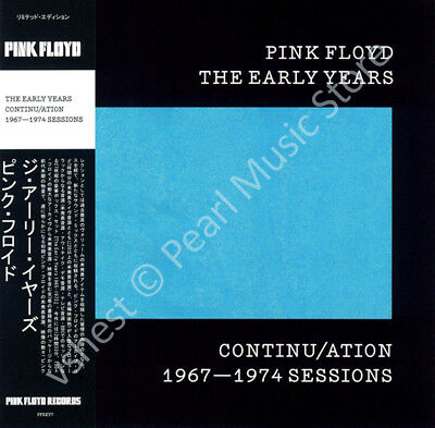 Pink Floyd The Early Years: Continu/ation 1967-1974 Sessions Cd Mini Lp Obi • 9.99£