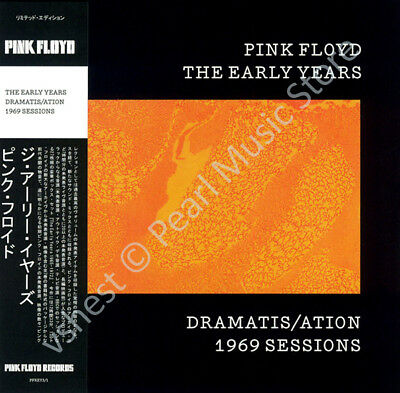 Pink Floyd The Early Years: Dramatis/ation 1969 Sessions Cd Mini Lp Obi • 9.99£