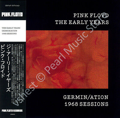 Pink Floyd The Early Years: Germin/ation 1968 Sessions Cd Mini Lp Obi • 9.99£