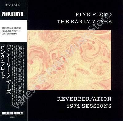 Pink Floyd The Early Years: Reverber/ation 1971 Sessions Cd Mini Lp Obi • 9.99£