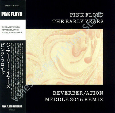 Pink Floyd The Early Years: Reverber/ation Meddle 2016 Remix Cd Mini Lp Obi • 9.99£