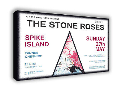 Stone Roses Ian Brown - Spike Island - Wall Canvas Picture Print Wall Art • 20£