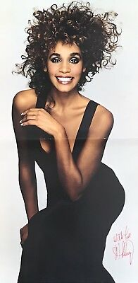 WHITNEY HOUSTON ~ The Moment Of Truth Tour 1988 ~Official 1988 UK Tour Programme • 16.99£