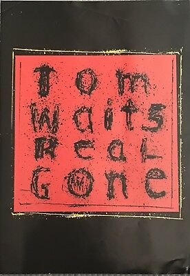 TOM WAITS ~ Real Gone ~ Rare 2004 UK A4 Size Press Pack / Kit ~ FREE UK SHIPPING • 14.99£